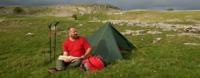 Wild camping in England – it's a fair cop!